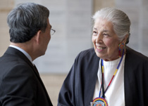 Susan Powell, Native American senior is a source of oral history